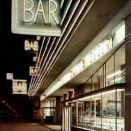 """Bar """"Praha"""" w Warszawie, fot. M. Kopydłowski, 1959"""