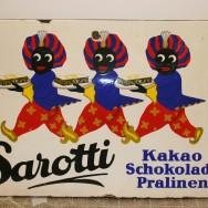 Szyld firmy Sarotti