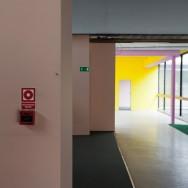 wnętrza budynku przy Emilii Plater 51 (lipiec 2012)