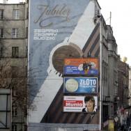 """Mural """"Jubiler"""", ul. Targowa, fot. Michał Niwicz, dzięki uprzejmości blizejkonkumenta.pl"""