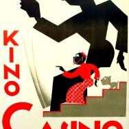 """Marian Walentynowicz, Kino """"Casino"""", plakat, 1927, Muzeum Plakatu w Wilanowie"""