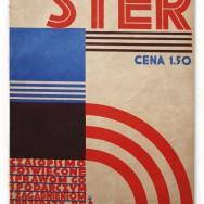 "Atelier ARA, Okładka czasopisma ""STER"", 1927, nr 1"
